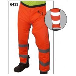 6433 Zahón anticorte motosierra clase 2 alta visibilidad