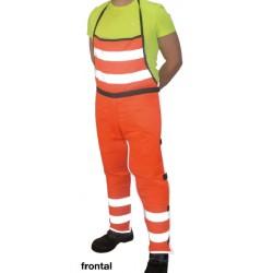 6430 Peto protección desbrozadora alta visibilidad